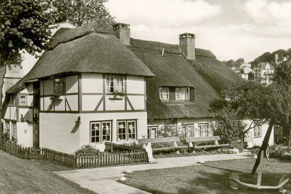 Fischerhaus anno 1967